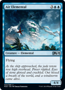 Air Elemental - Core Set 2020 - Foil