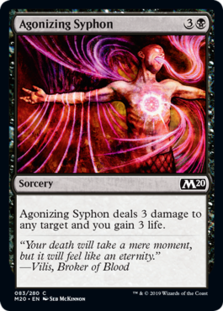 Agonizing Syphon - Core Set 2020 - Foil
