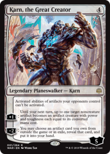 Karn, the Great Creator - War of the Spark