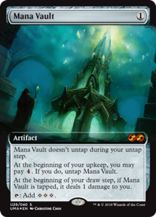 Mana Vault - Ultimate Masters: Box Toppers - Foil