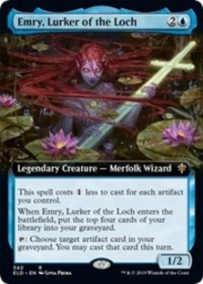 Emry, Lurker of the Loch (Extended Art) - Throne of Eldraine: Extras