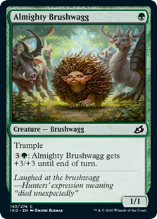 Almighty Brushwagg - Ikoria: Lair of Behemoths - Foil