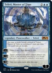 Teferi, Master of Time (Alternate Art) (277) - Core 2021