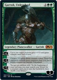 Garruk, Unleashed - Core 2021
