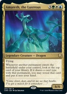 Amareth, the Lustrous - Commander Legends - Foil