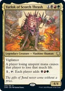Yurlok of Scorch Thrash - Commander Legends - Foil