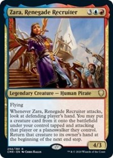 Zara, Renegade Recruiter - Commander Legends
