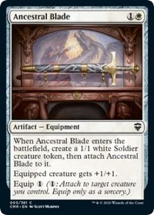 Ancestral Blade - Commander Legends - Foil